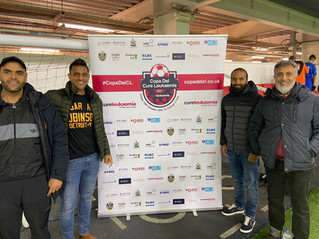 Alum Rock Football Academy support Cure Leukaemia