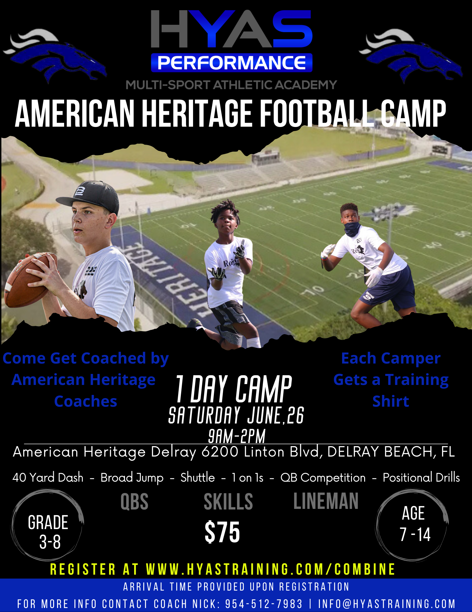 American Heritage Delray 1 Day Camp