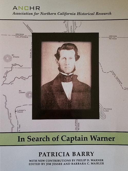In Search of Captain Warner by Pat Barry