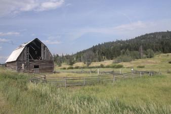 Alcan Highway Barn