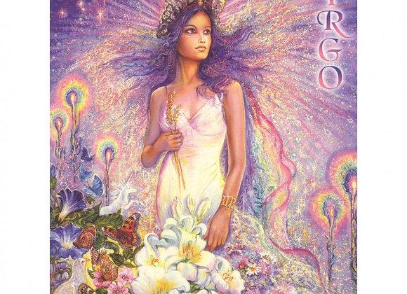 Zodiac Card -Virgo