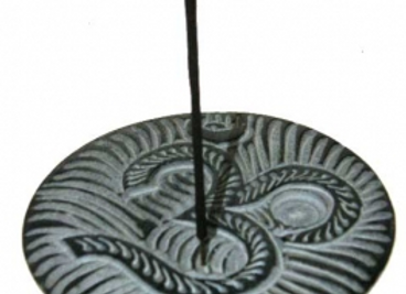 Soapstone Om Incense Stick & Cone Burner