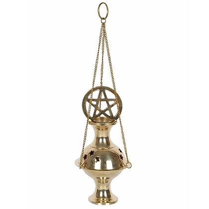 Pentagram Incense Censer