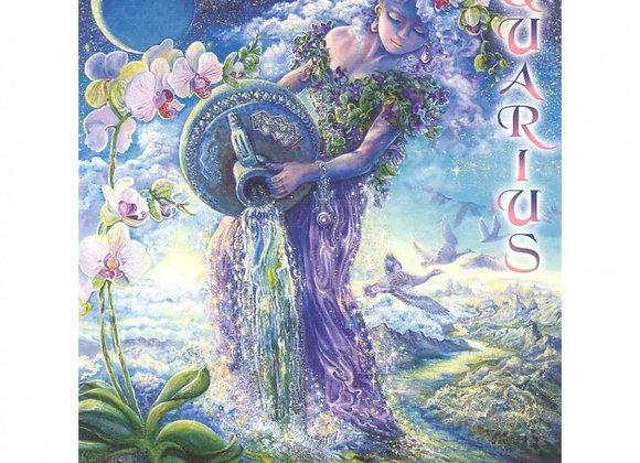 Zodiac Card - Aquarius