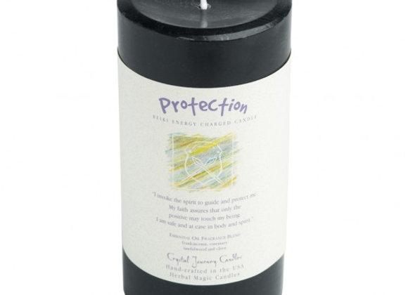 Protection - Reiki Pillar Candle