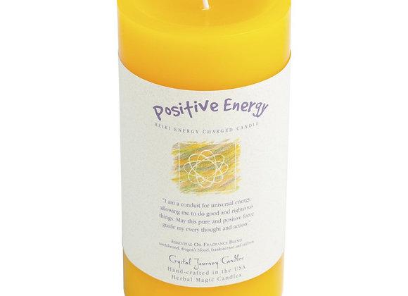 Positive Energy - Reiki Pillar Candle