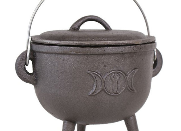 Triple Moon Cauldron - 15cm
