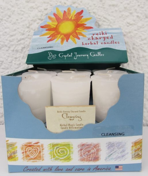 Cleansing Votive Herbal Magic Candle