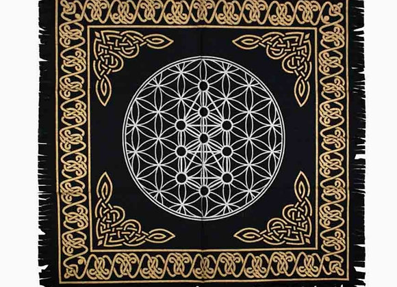 Flower of Life Altar Cloth