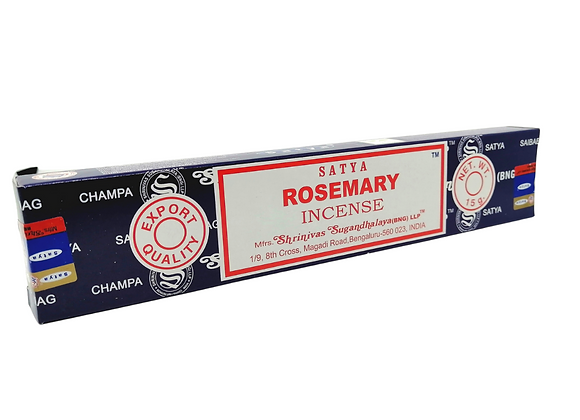 Rosemary Satya Incense Sticks