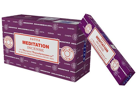 Meditation Satya Incense Sticks