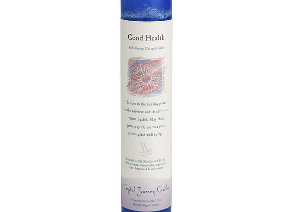 Good Health - Reiki Pillar Candle