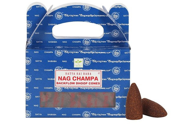 Original Nag Champa Backflow Incense Cones
