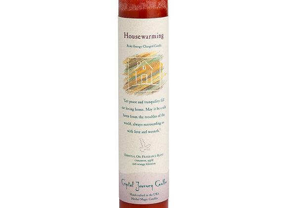 Housewarming - Reiki Pillar Candle