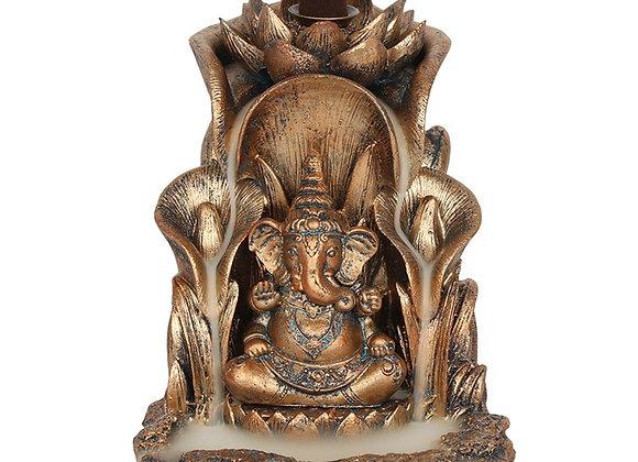 Ganesh Bronze Effect Backflow Burner