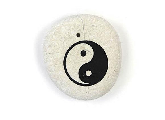 Yin Yang Stone Incense Holder
