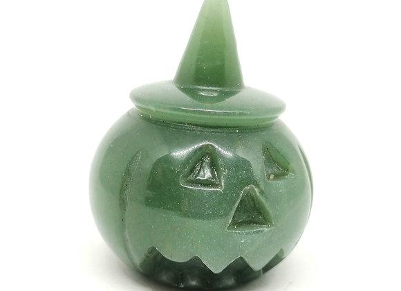 Green Aventurine Pumpkin