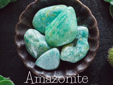 Amazonite - The guide to your inner truth?