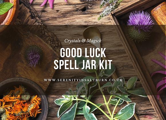 Good Luck Spell Jar Kit
