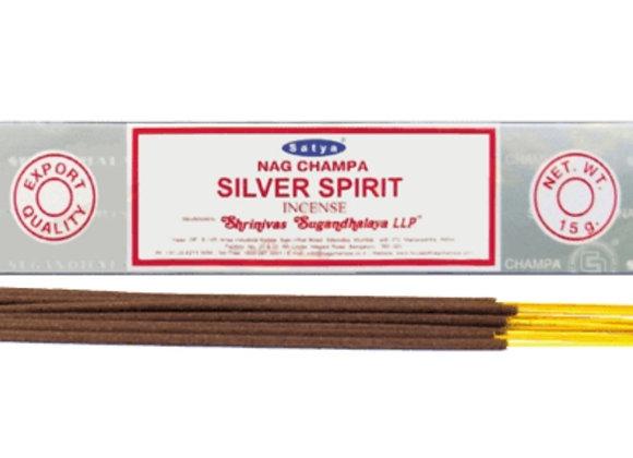 Silver Spirit Satya Incense Sticks