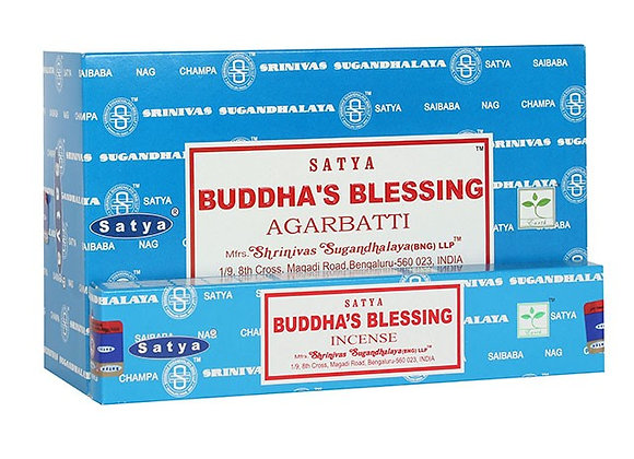 Buddha's Blessing Satya Incense Sticks