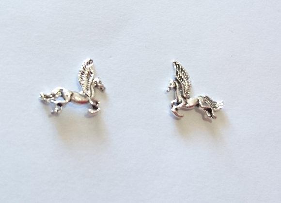 Winged Unicorn (Alicorn) Studs