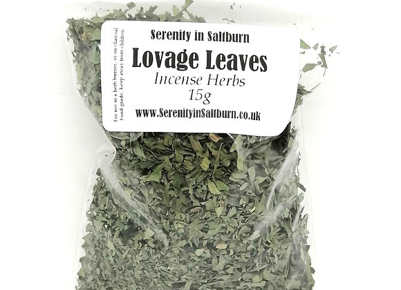 Lovage Leaves