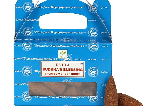 Buddha's Blessing Backflow Incense Cones