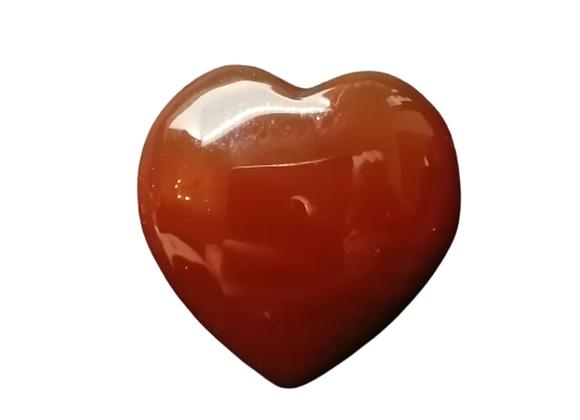 Mini Carved Gemstone Heart