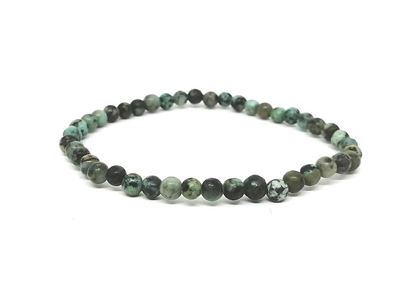 African Turquoise Bead Bracelet