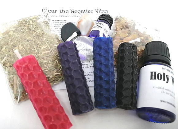 Clear the Negative Vibes Spell Kit