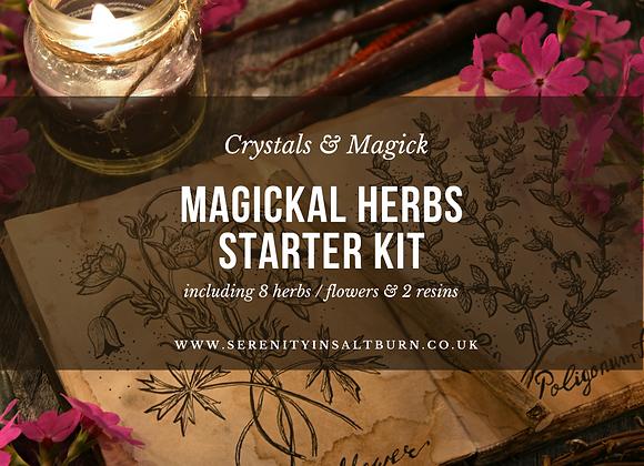 Magickal Herbs Starter Kit