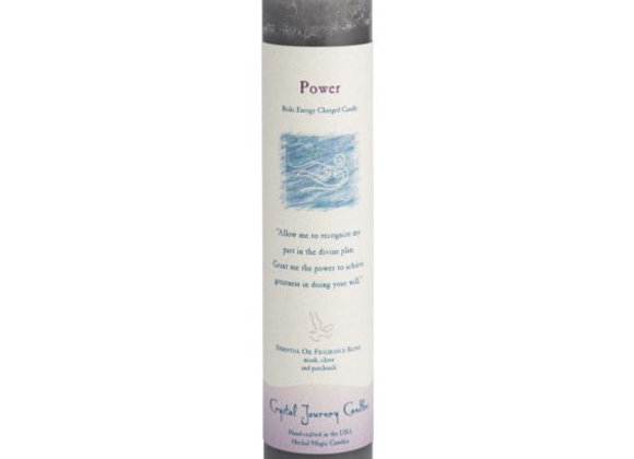 Power - Reiki Pillar Candle