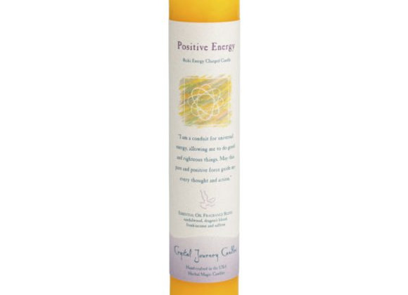 Positive Energy - Reiki Pillar Candle