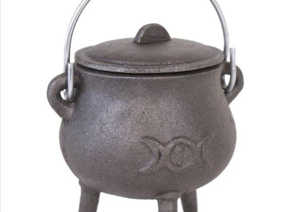 Triple Moon Potbelly Cauldron - 7.5cm