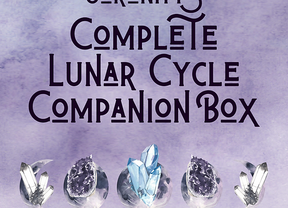 Serenity's Complete Lunar Cycle Companion Box