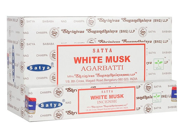 White Musk Satya Incense Sticks