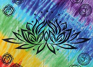 Chakra Lotus Wallhanging