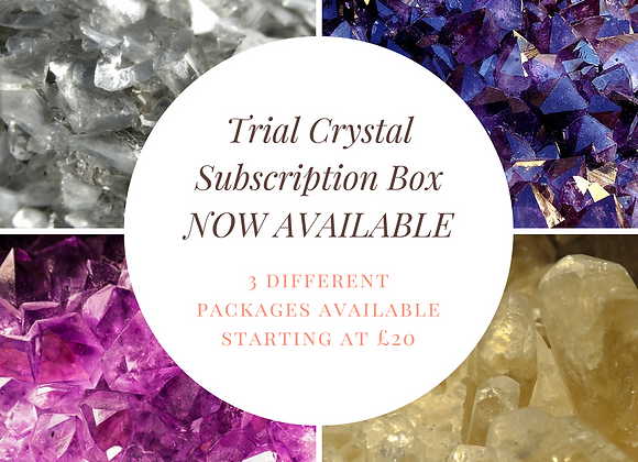 Trial Crystal Subscription Box