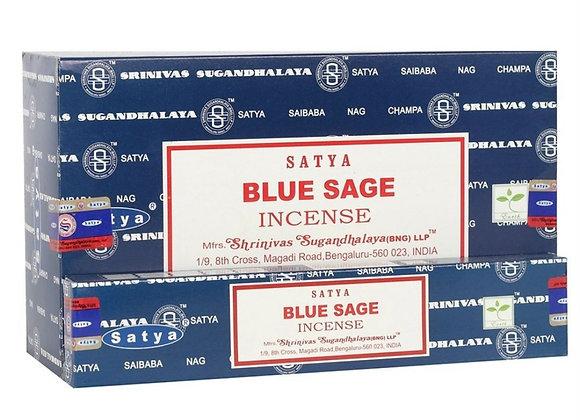 Blue Sage Satya Incense Sticks