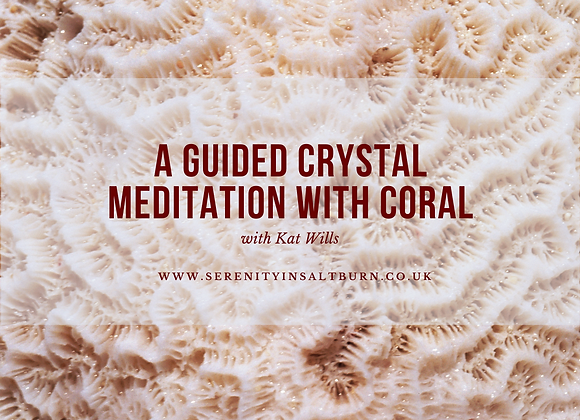 A Guided Meditation with Coral
