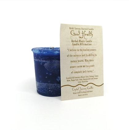 Good Health Votive Herbal Magic Candle