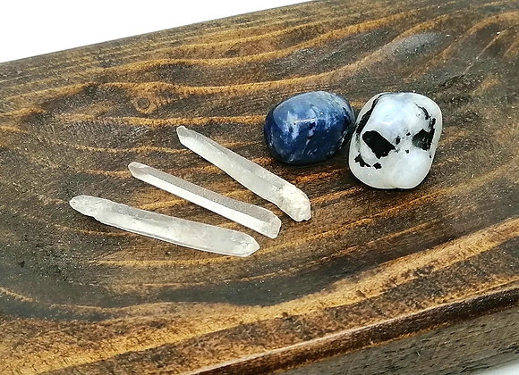Intuition Healing Crystal Set
