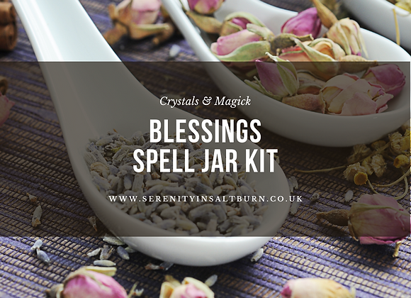 Blessings Spell Jar Kit