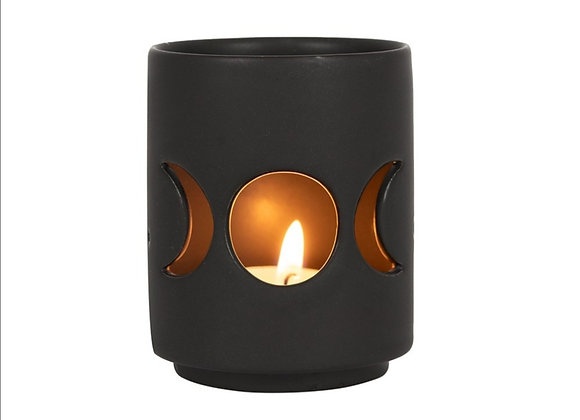Triple Moon Tealight Holder