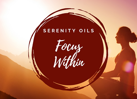 Meditation Oil Blend - focus within