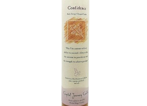 Confidence - Reiki Pillar Candle