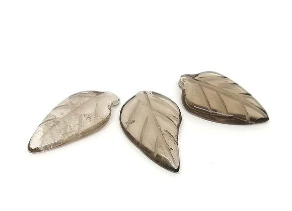 Smokey Quartz Leaf