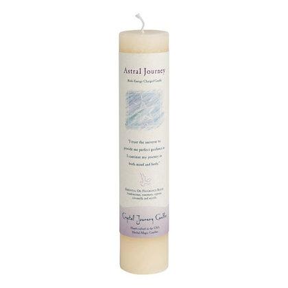 Astral Journey - Reiki Pillar Candle
