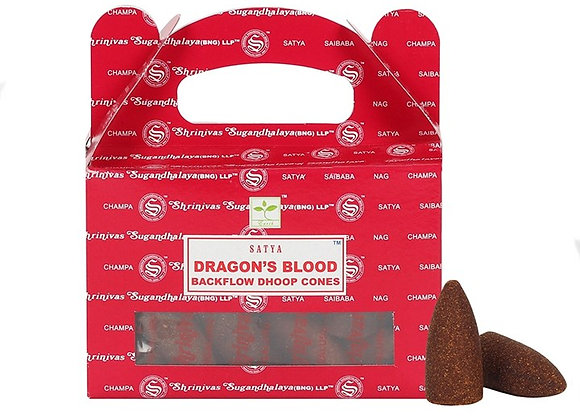 Dragon's Blood Backflow Incense Cones